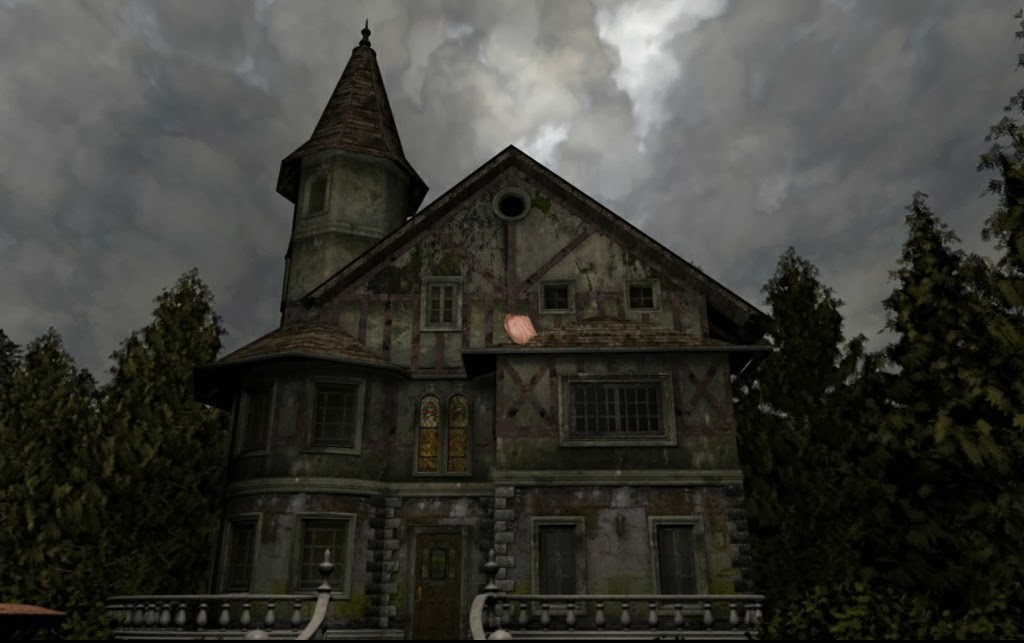 I Wish Had A Creepy Old Mansion To Write In Preferably One That Isn