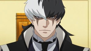 Ace Attorney character Simon Blackquill, from Dual Destinies
