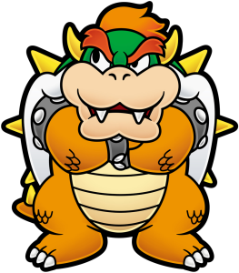 I bet no one has ever compared Angelique and Bowser before.
