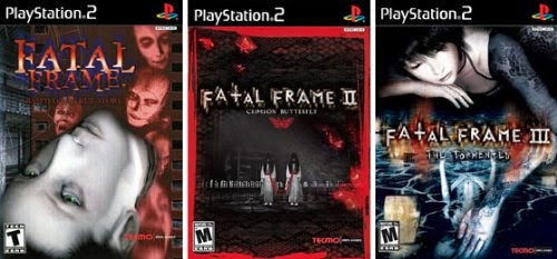 First 3 Fatal Frame games