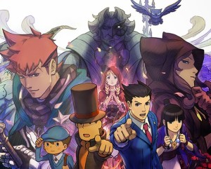 Professor Layton vs. Phoenix Wright Ace Attorney