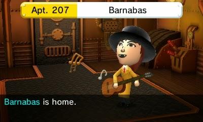 Barnabas Collins Tomodachi Life