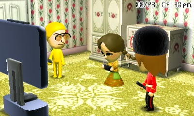 More Miis enjoy the Wii U