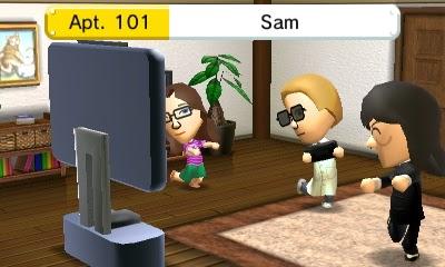 Miis play Wii U