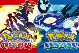 Cover art for Pokemon Omega Ruby and Pokemon Alpha Sapphire