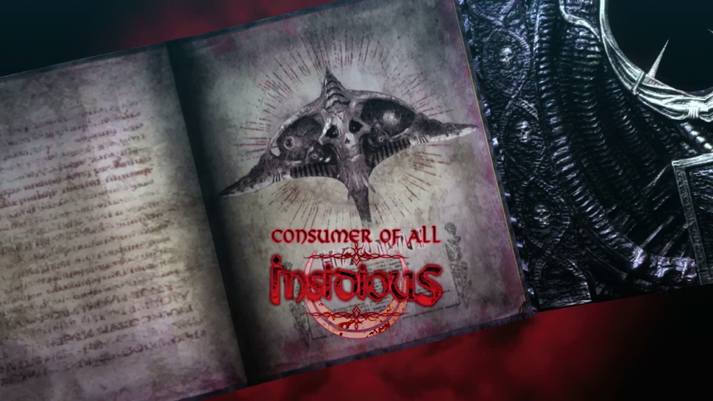 "Intro for the demon ""Insidious"" in Bayonetta 2"