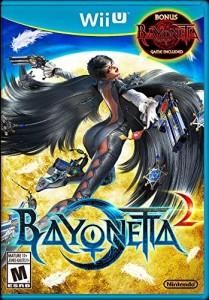 Wii U game case for Bayonetta 2