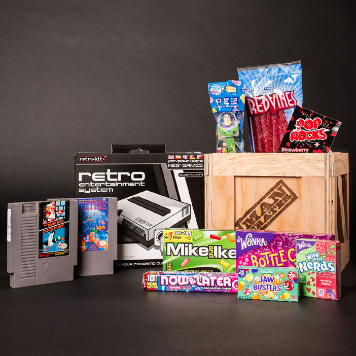 The Retro Gamer Crate from Man Crates