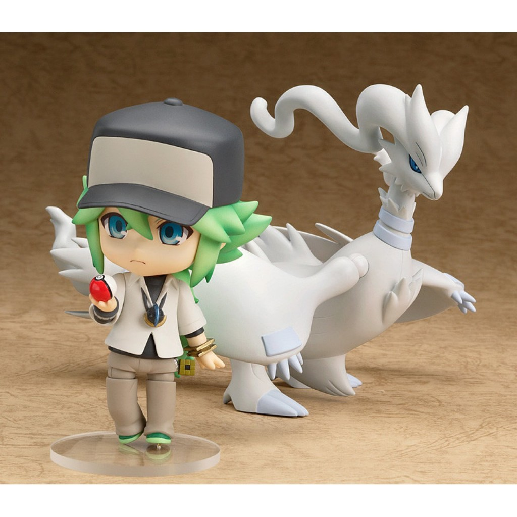Nendoroid-Pokemon-N-figure-with-Reshiram