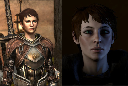 Close enough, but she's not my Hawke.