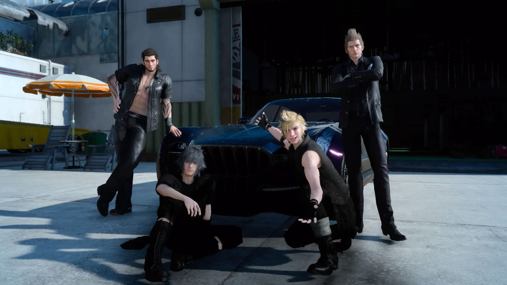 Final Fantasy XV car screenshot