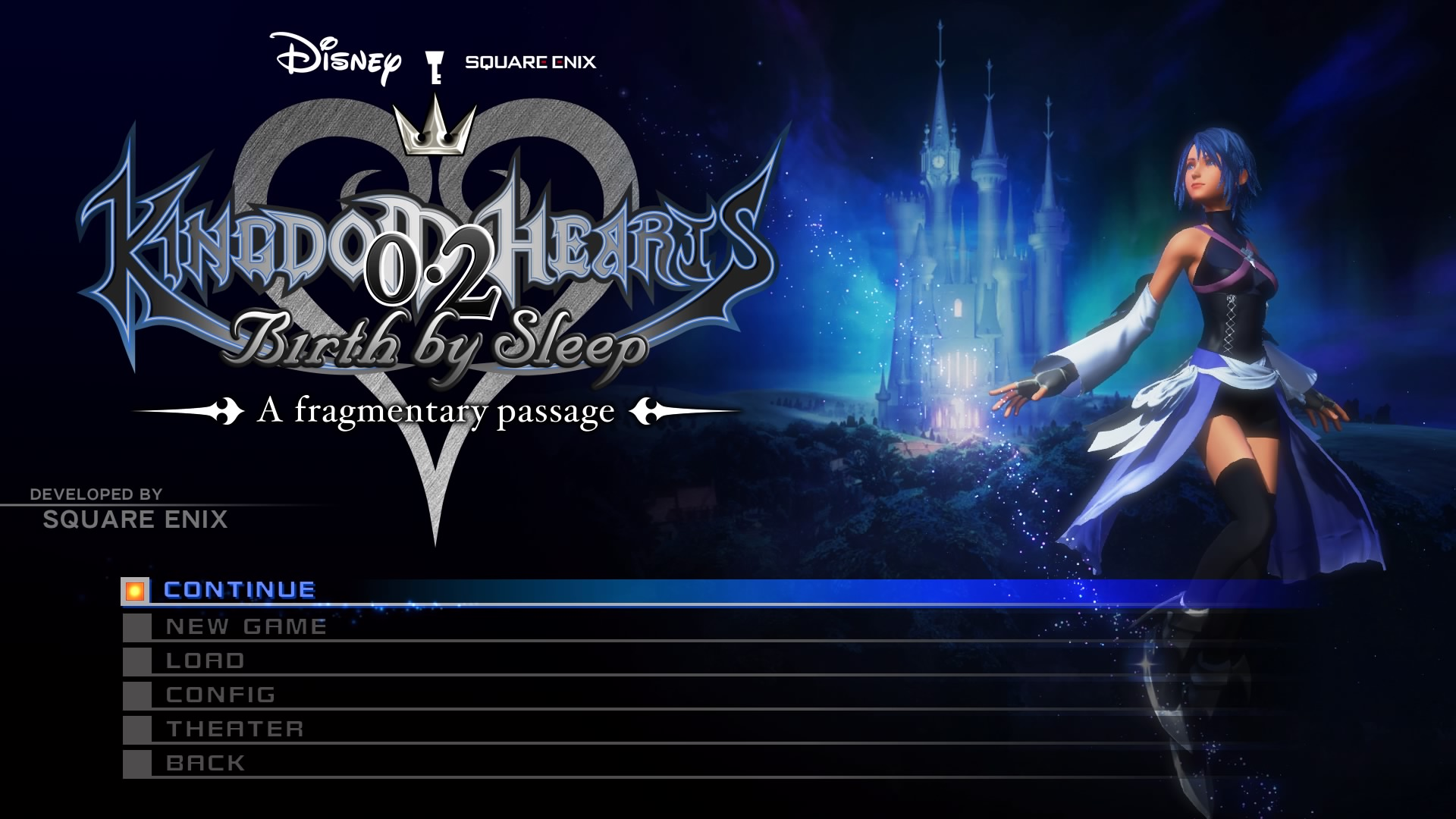 Kingdom hearts 02 birth by sleep a fragmentary passage is awesome after dream drop distance and back cover only one part of kingdom hearts hd 28 final chapter prologue remained kingdom hearts 02 birth by sleep a voltagebd Choice Image
