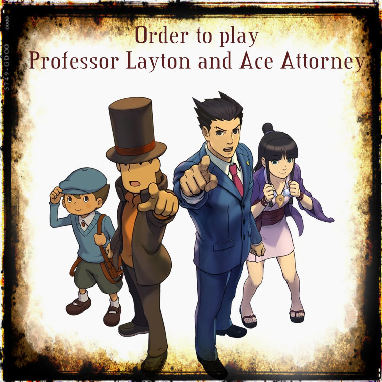 Order To Play Professor Layton And Ace Attorney Games Samantha